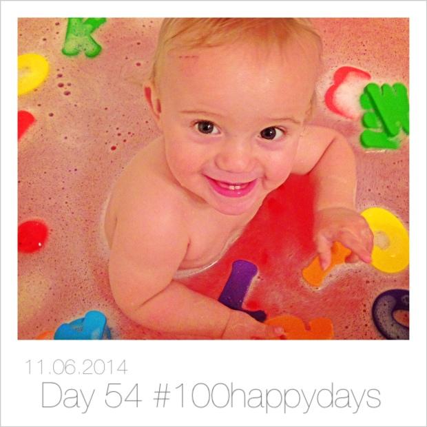 Baby's loving bath time, happy, happy moments xxx