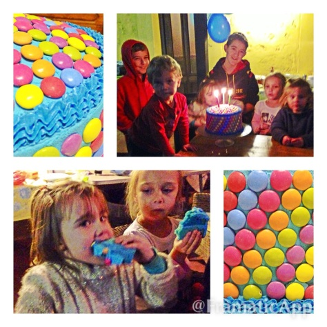 #birthdaycake #smarties #myfavouritecolourisblue